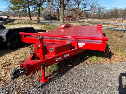 """2021 HD Trailer 102""""x24' 7000lb Axles for sale at TINKER MOTOR COMPANY in Indianola OK"""
