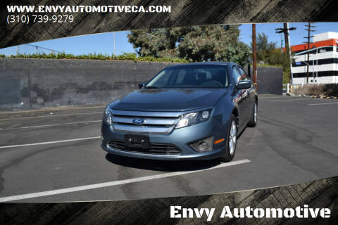2012 Ford Fusion for sale at Envy Automotive in Studio City CA
