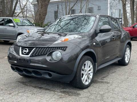 2013 Nissan JUKE for sale at Emory Street Auto Sales and Service in Attleboro MA
