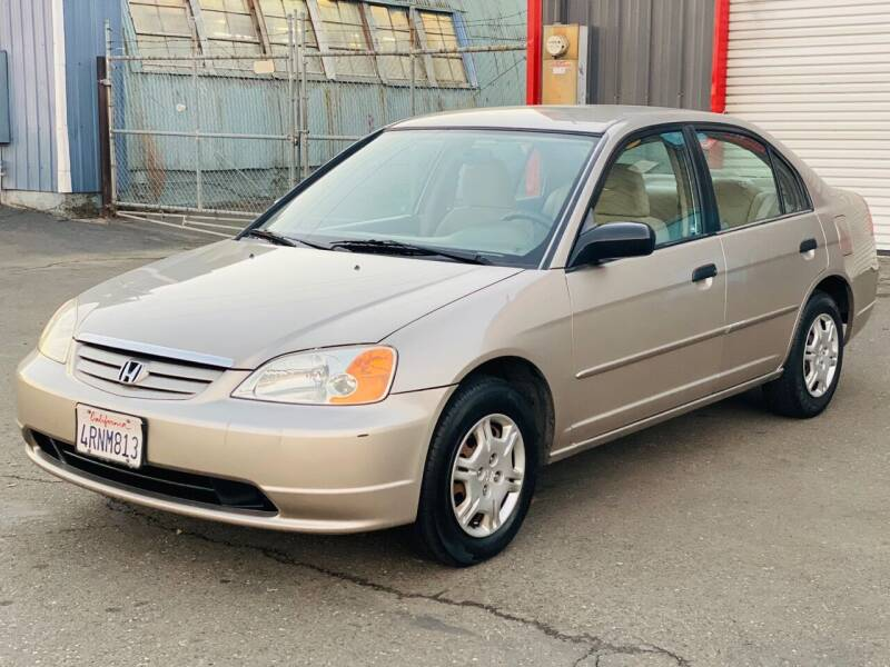 2001 Honda Civic for sale at United Star Motors in Sacramento CA
