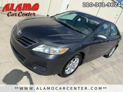 2011 Toyota Camry for sale at Alamo Car Center in San Antonio TX