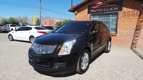 2010 Cadillac SRX for sale at Auto Click in Tucson AZ