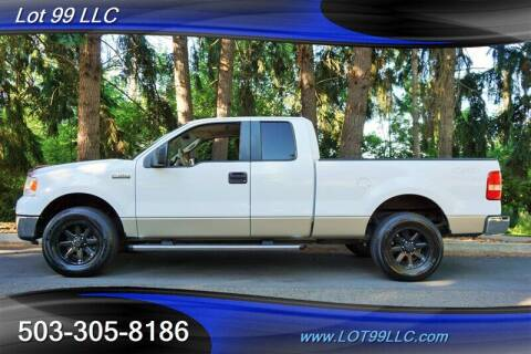 2007 Ford F-150 for sale at LOT 99 LLC in Milwaukie OR