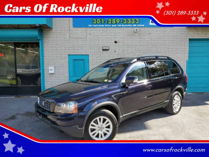 2008 Volvo XC90 for sale at Cars Of Rockville in Rockville MD