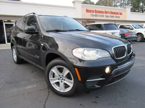 2013 BMW X5 for sale at North Georgia Auto Brokers in Snellville GA