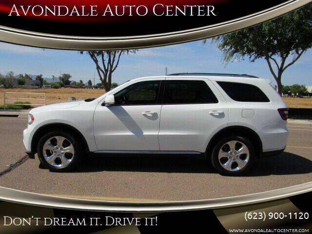 2015 Dodge Durango for sale at Avondale Auto Center in Avondale AZ