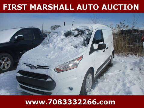 2014 Ford Transit Connect Cargo for sale at First Marshall Auto Auction in Harvey IL