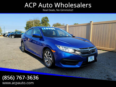 2016 Honda Civic for sale at ACP Auto Wholesalers in Berlin NJ