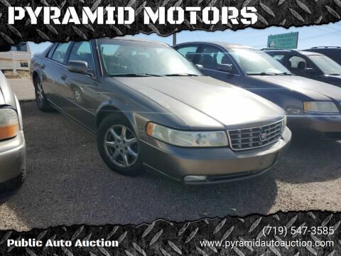 2002 Cadillac Seville for sale at PYRAMID MOTORS - Pueblo Lot in Pueblo CO