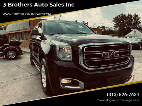 2015 GMC Yukon for sale at 3 Brothers Auto Sales Inc in Detroit MI