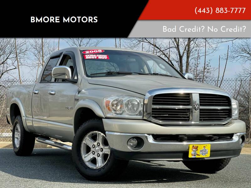 2008 Dodge Ram Pickup 1500 for sale at Bmore Motors in Baltimore MD