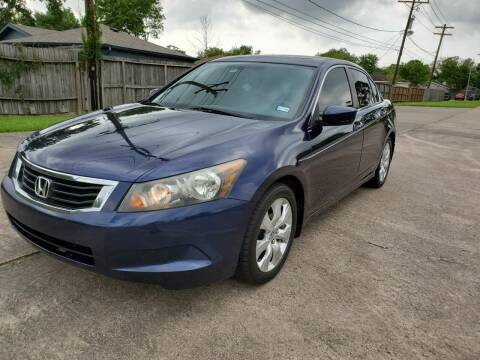 2010 Honda Accord for sale at MOTORSPORTS IMPORTS in Houston TX