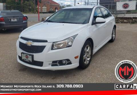 2011 Chevrolet Cruze for sale at MIDWEST MOTORSPORTS in Rock Island IL