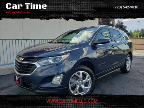 2018 Chevrolet Equinox for sale at Car Time in Denver CO