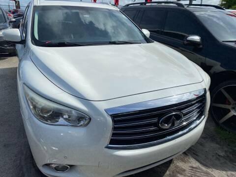 2015 Infiniti QX60 for sale at America Auto Wholesale Inc in Miami FL