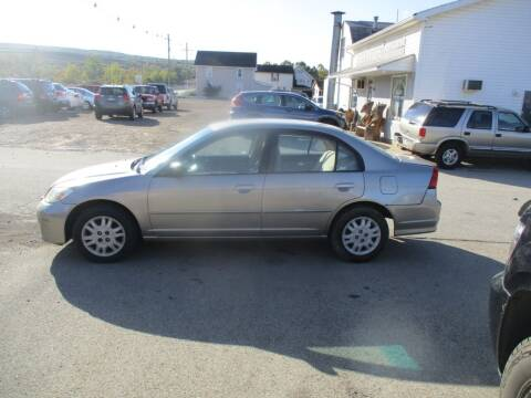 2004 Honda Civic for sale at ROUTE 119 AUTO SALES & SVC in Homer City PA