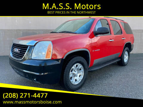 2008 GMC Yukon for sale at M.A.S.S. Motors in Boise ID