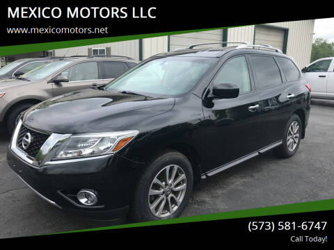 2015 Nissan Pathfinder for sale at MEXICO MOTORS LLC in Mexico MO