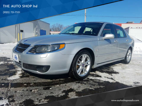 2007 Saab 9-5 for sale at THE AUTO SHOP ltd in Appleton WI