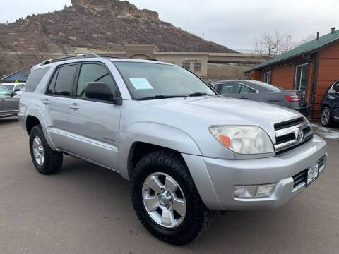 2005 Toyota 4Runner for sale at BERKENKOTTER MOTORS in Brighton CO