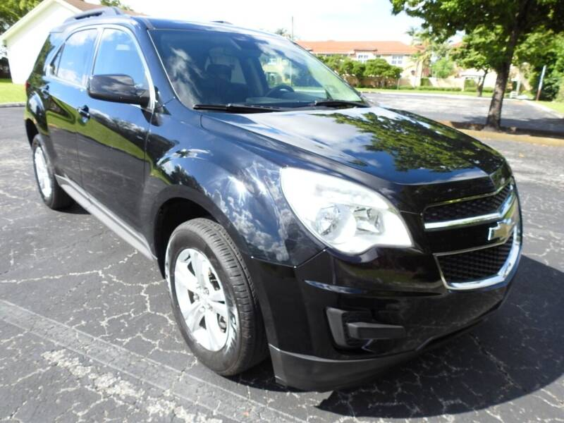 2015 Chevrolet Equinox for sale at SUPER DEAL MOTORS 441 in Hollywood FL