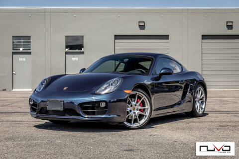 2015 Porsche Cayman for sale at Nuvo Trade in Newport Beach CA