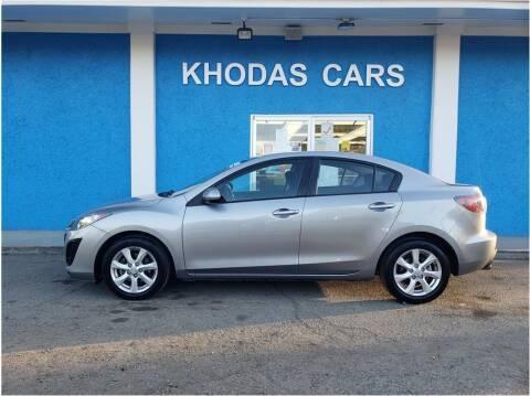 2010 Mazda MAZDA3 for sale at Khodas Cars in Gilroy CA
