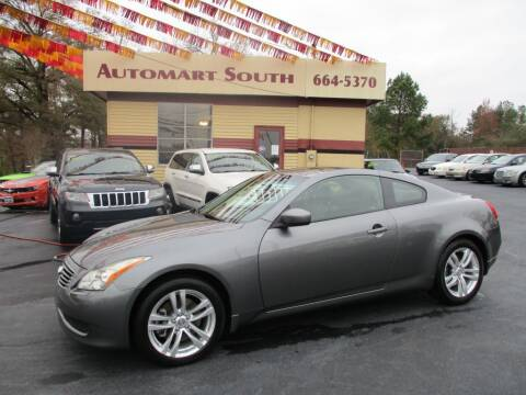 2010 Infiniti G37 Coupe for sale at Automart South in Alabaster AL