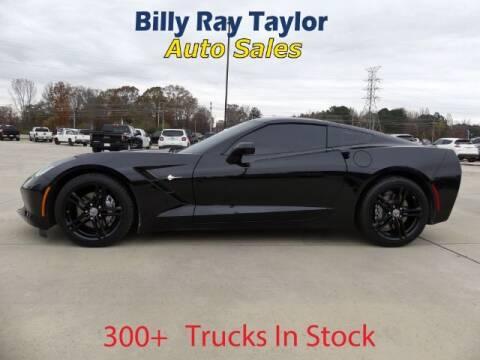 2016 Chevrolet Corvette for sale at Billy Ray Taylor Auto Sales in Cullman AL