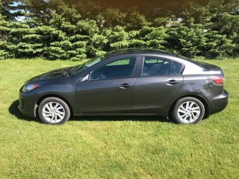 2012 Mazda MAZDA3 for sale at BLAESER AUTO LLC in Chippewa Falls WI