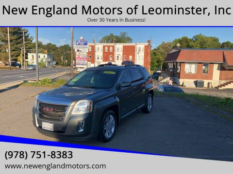 2012 GMC Terrain for sale at New England Motors of Leominster, Inc in Leominster MA