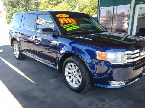 2011 Ford Flex for sale at Low Auto Sales in Sedro Woolley WA