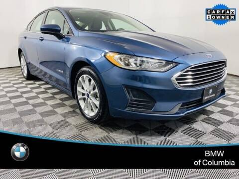 2019 Ford Fusion Hybrid for sale at Preowned of Columbia in Columbia MO