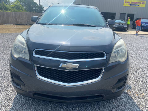 2011 Chevrolet Equinox for sale at Alpha Automotive in Odenville AL