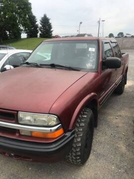 2001 Chevrolet S-10 for sale at PREOWNED CAR STORE in Bunker Hill WV
