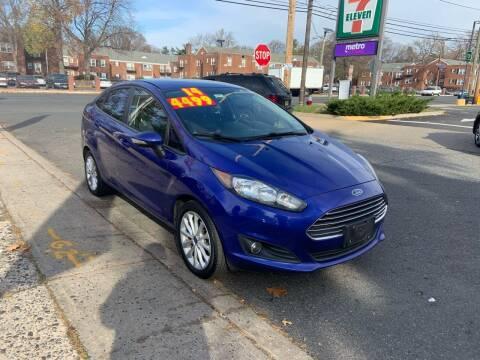 2014 Ford Fiesta for sale at Metro Auto Exchange 2 in Linden NJ