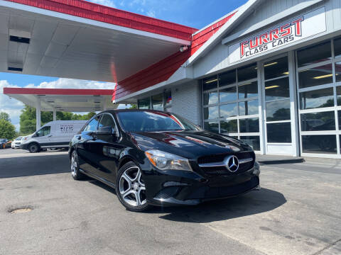 2014 Mercedes-Benz CLA for sale at Furrst Class Cars LLC  - Independence Blvd. in Charlotte NC