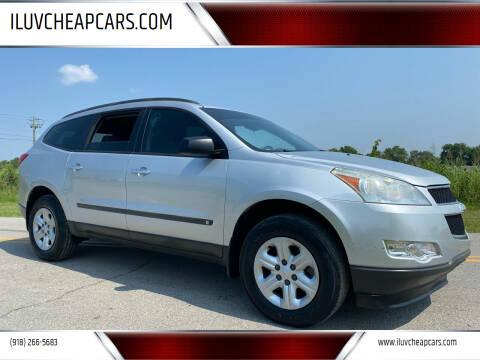 2010 Chevrolet Traverse for sale at ILUVCHEAPCARS.COM in Tulsa OK