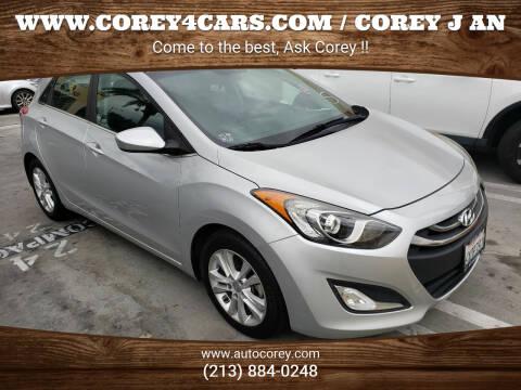 2013 Hyundai Elantra GT for sale at WWW.COREY4CARS.COM / COREY J AN in Los Angeles CA