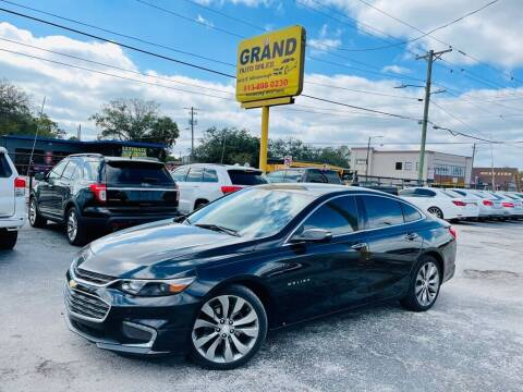 2016 Chevrolet Malibu for sale at Grand Auto Sales in Tampa FL