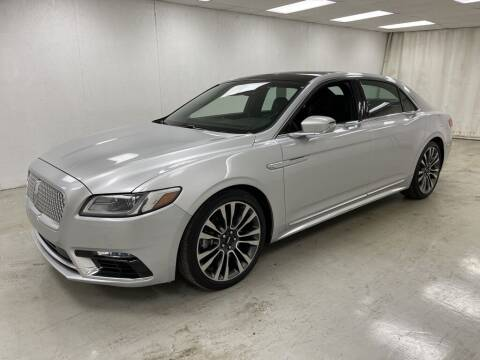 2017 Lincoln Continental for sale at Kerns Ford Lincoln in Celina OH