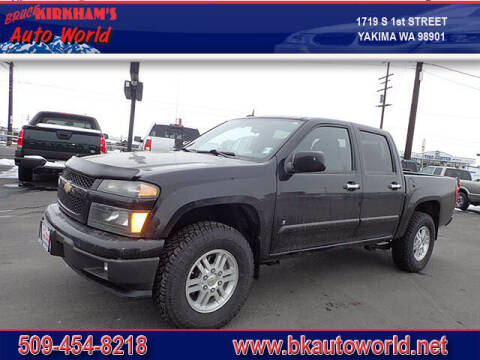 2009 Chevrolet Colorado for sale at Bruce Kirkham Auto World in Yakima WA