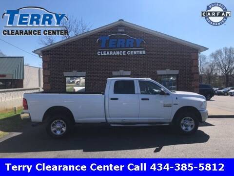 2018 RAM Ram Pickup 2500 for sale at Terry Clearance Center in Lynchburg VA