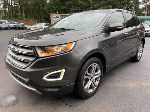 2015 Ford Edge for sale at GEORGIA AUTO DEALER, LLC in Buford GA