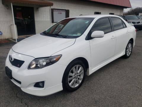 2010 Toyota Corolla for sale at Salem Auto Sales in Salem VA