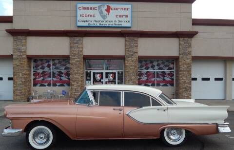 1957 Chevrolet Fairlane  for sale at Iconic Motors of Oklahoma City, LLC in Oklahoma City OK