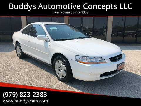 1998 Honda Accord for sale at Buddys Automotive Concepts LLC in Bryan TX