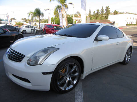 2004 Infiniti G35 for sale at Eagle Auto in La Mesa CA