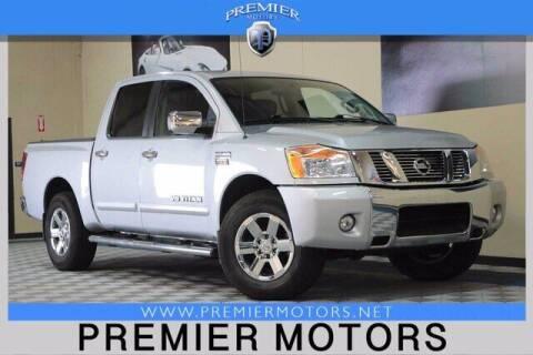2012 Nissan Titan for sale at Premier Motors in Hayward CA