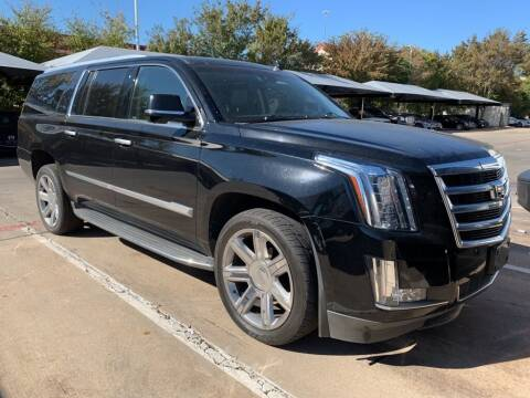 2016 Cadillac Escalade ESV for sale at Excellence Auto Direct in Euless TX